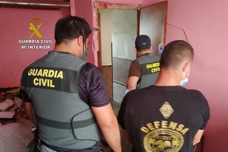 Rumanian gang arrested for 12 copper cabling thefts in Alicante Province