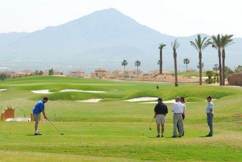 Hacienda del Álamo golf course, school and driving range