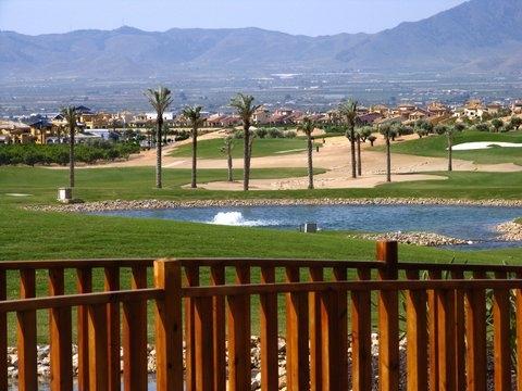 Location of Hacienda del Álamo Golf Resort
