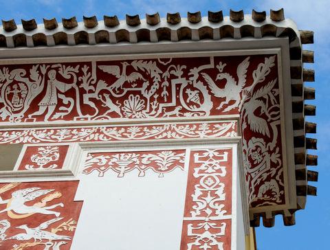 The Casa Pintada in Mula