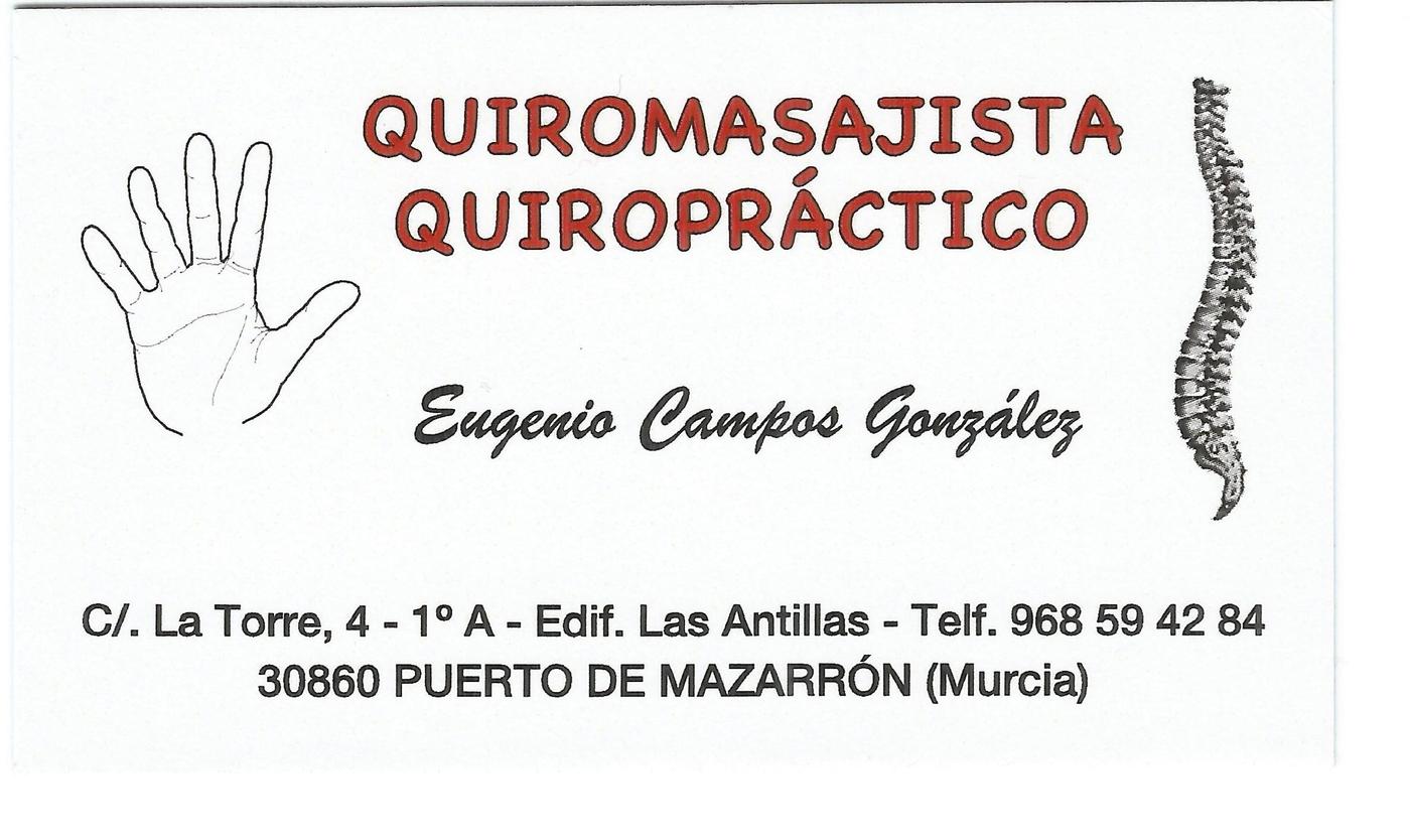 Eugenio Campos Chiropractor chiro-massage acupuncture