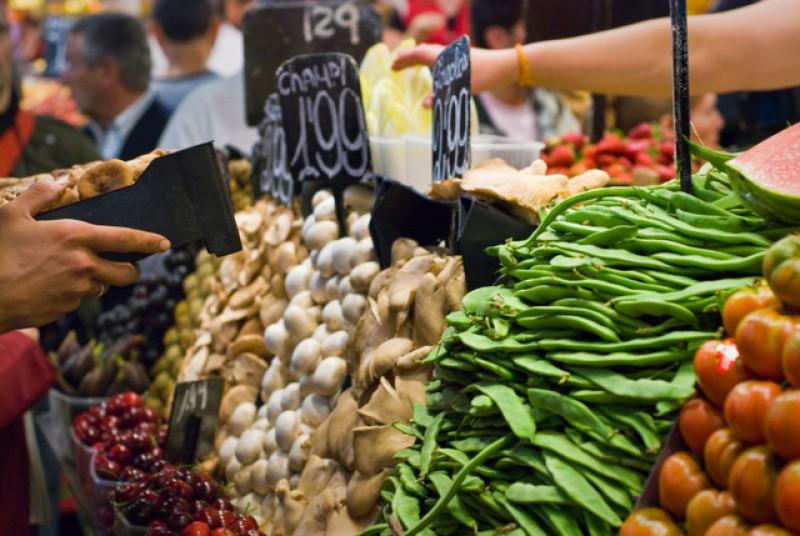 Weekly street market in Bullas