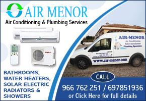 Air Menor air conditioning, solar heating, plumbing