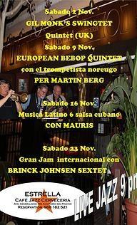 <span style='color:#780948'>ARCHIVED</span> - 16th November, Latin music and Cuban swing, San Pedro del Pinatar