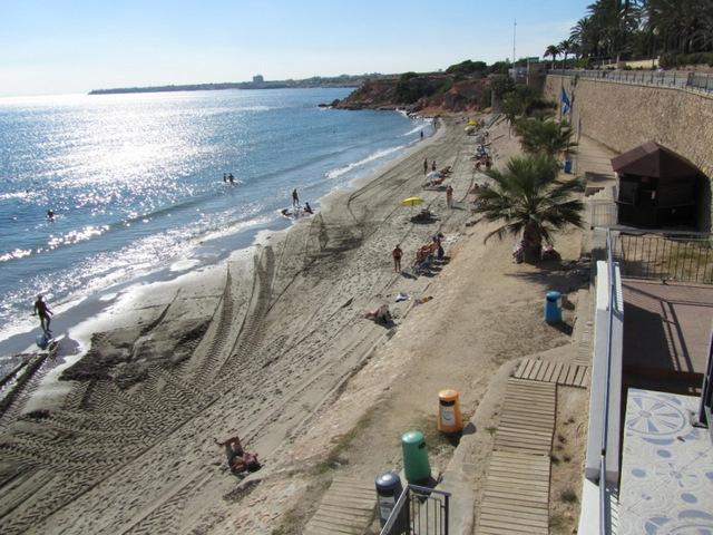 Punta Prima and Punta Prima beach