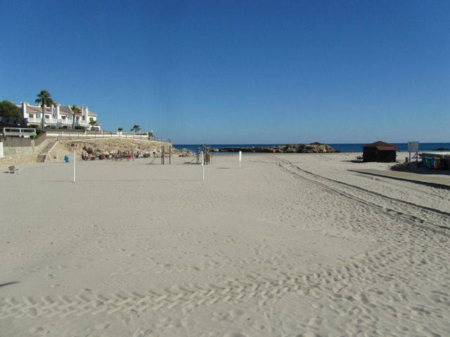 Overview of Orihuela beaches