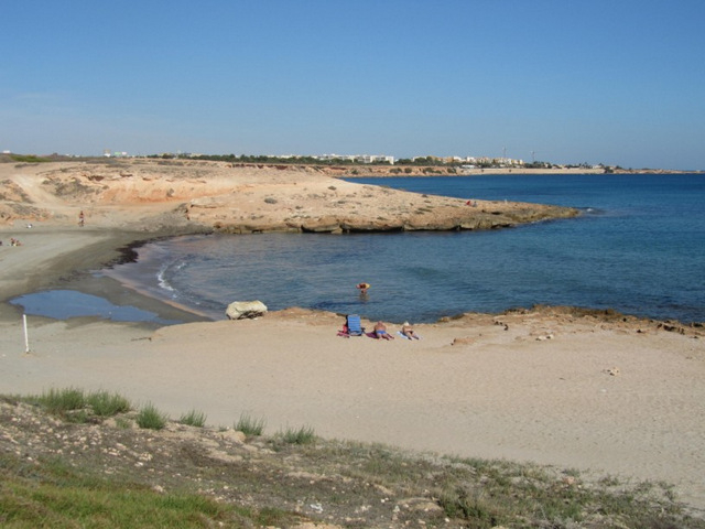 Cala Mosca Beach, Orihuela (Playa Flamenca area)