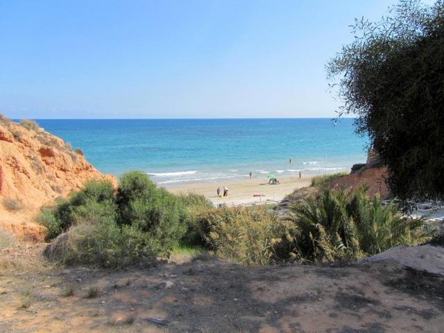 Barranco Rubio beach, Orihuela (Campoamor)