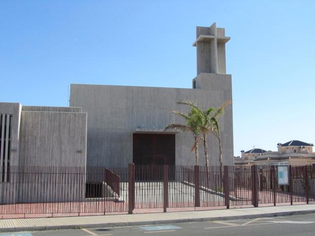 The church of Cristo Resucitado, Villa Piedra La Zenia