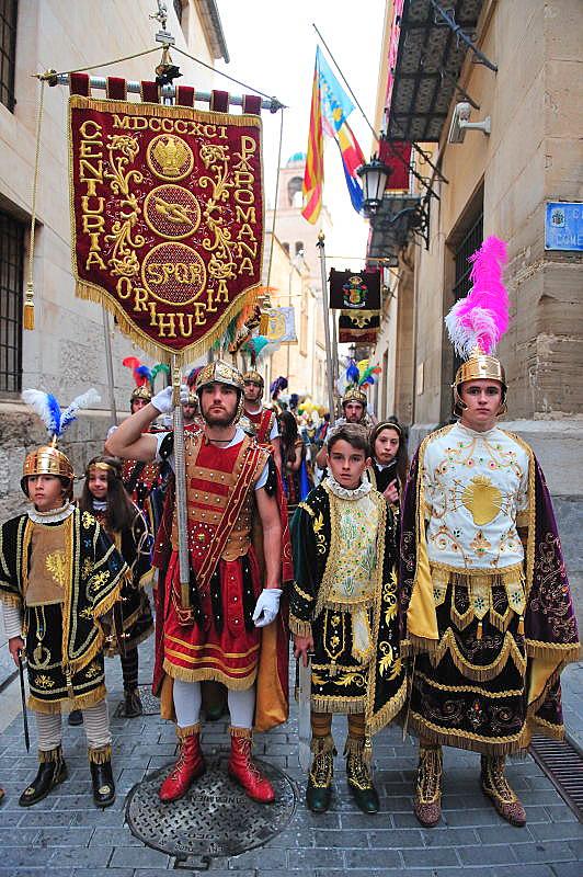 The Diablesa and Caballero Cubierto, Santo Entierro del Cristo, Orihuela