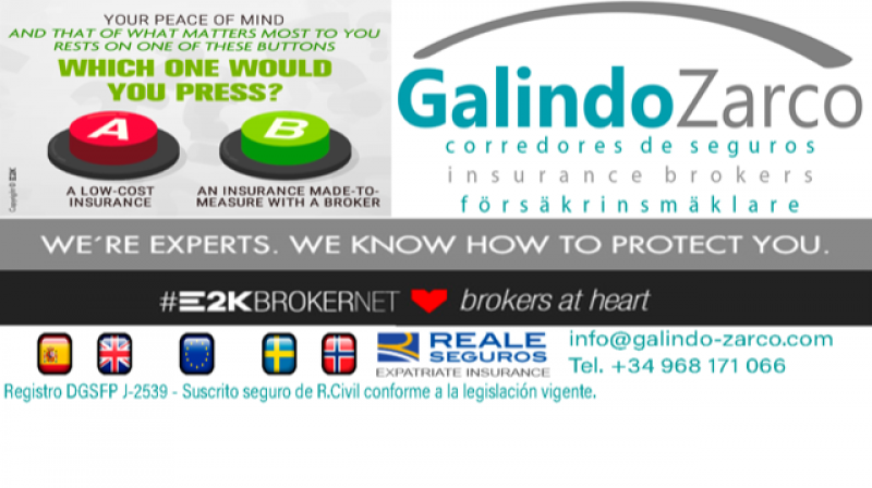 All your expat insurance needs supplied in English by Galindo & Zarco Insurance Brokers