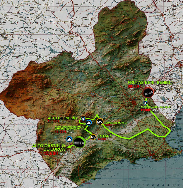 <span style='color:#780948'>ARCHIVED</span> - 1st March, Vuelta ciclista Murcia 2014