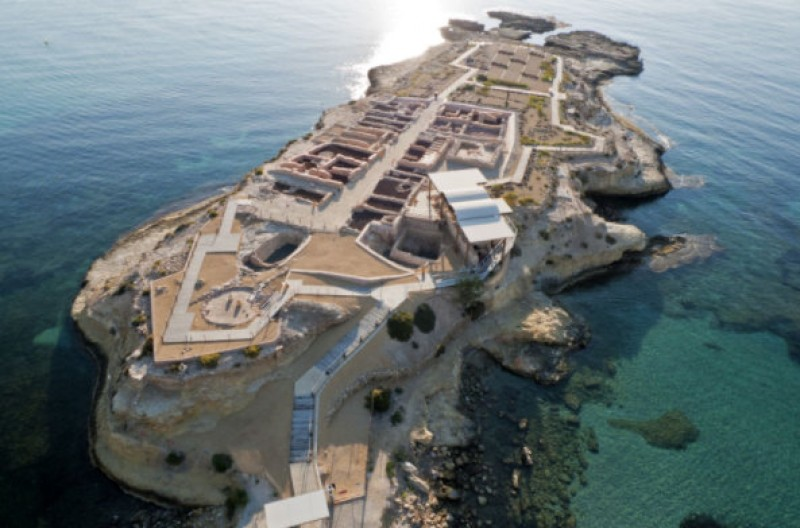 La Illeta dels Banyets in Campello: archaeological remains from the Bronze Age to the Romans and the Moors just outside Alicante