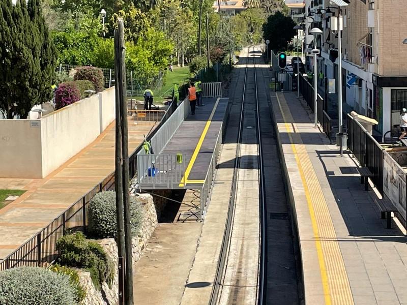 Remodeling of Garganes TRAM stop in Alicante, Line 9 Benidorm-Denia to begin on April 29