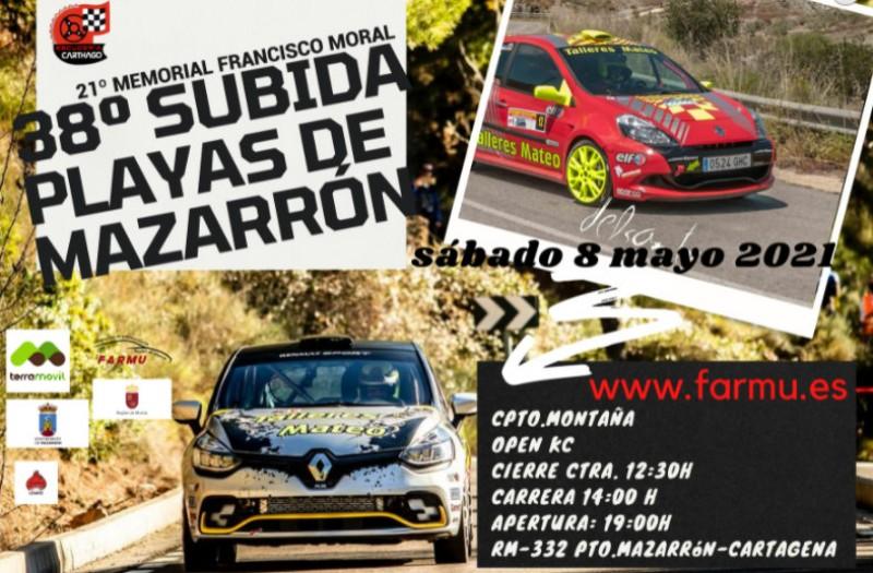 <span style='color:#780948'>ARCHIVED</span> - Saturday 8th May, Mazarrón rallysprint: the 38th Subida Playas de Mazarrón