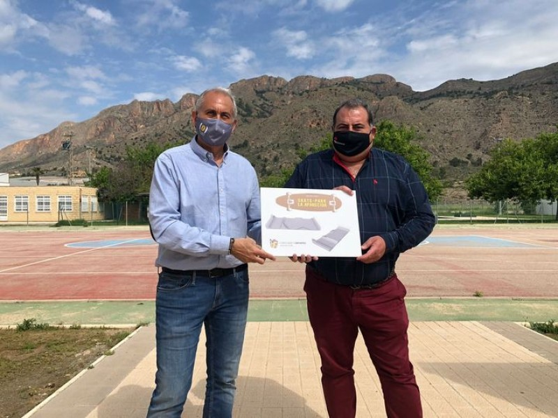 <span style='color:#780948'>ARCHIVED</span> - Three new skate parks to be built in the municipality of Orihuela