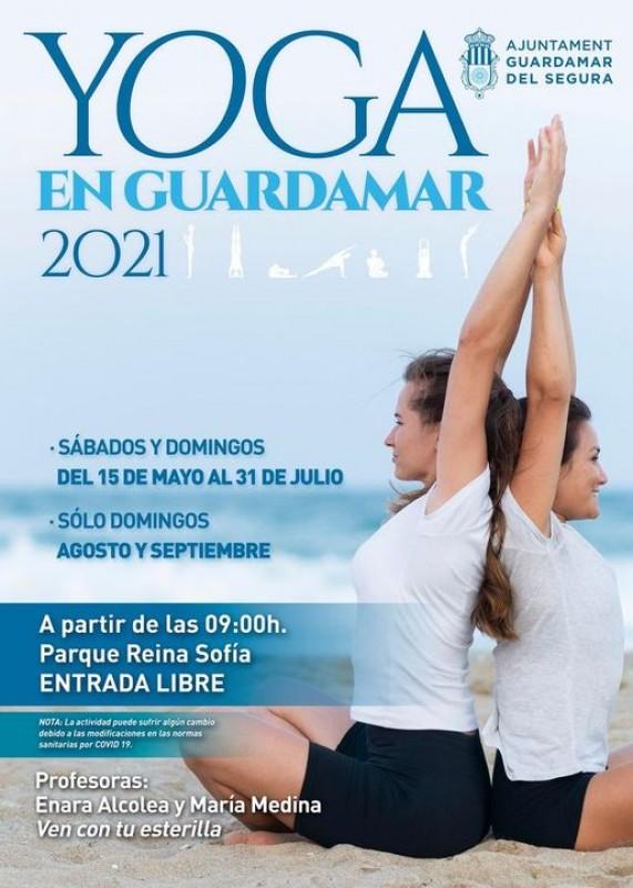 Free yoga classes in Guardamar del Segura
