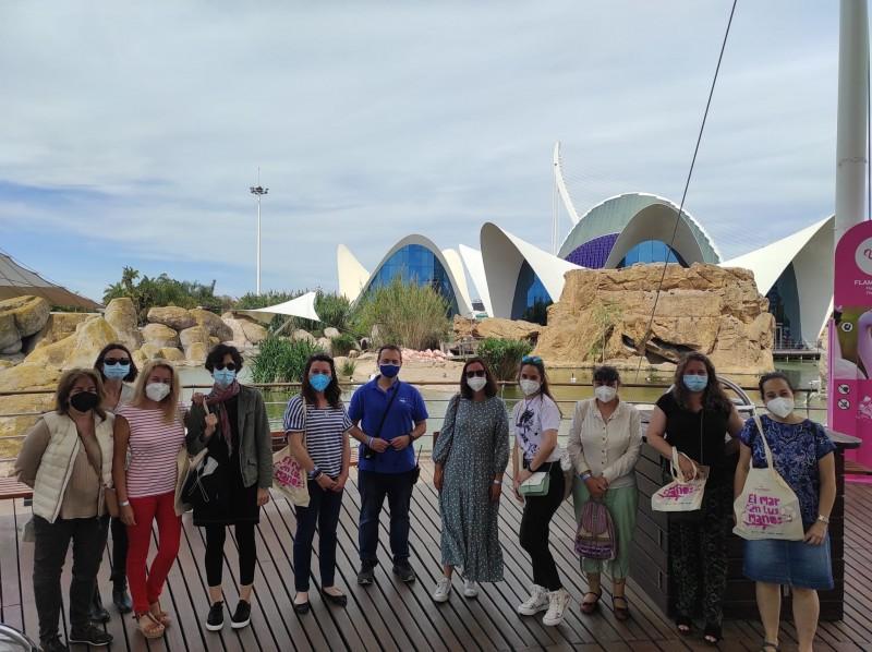 Teachers visit Oceanografic Valencia to bring the marine world to classrooms
