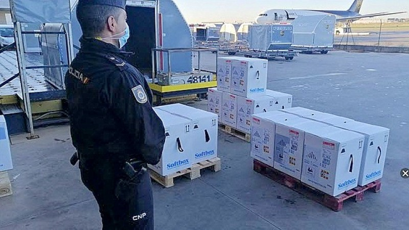 Valencia Region will receive two direct air shipments of Pfizer vaccine each week from June