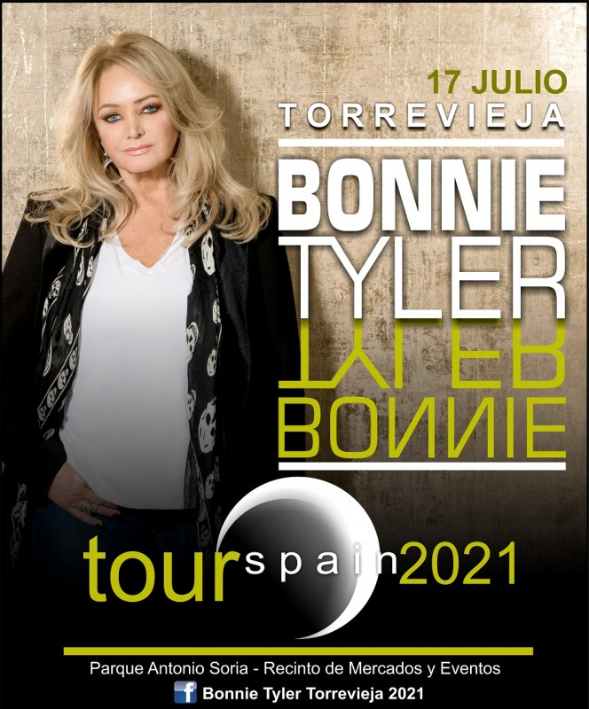 Bonnie Tyler in Torrevieja on July 17