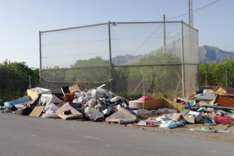 <span style='color:#780948'>ARCHIVED</span> - Illegal dumping on the rise in Orihuela
