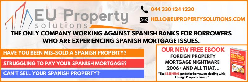 Spanish Property Repossession HELP!