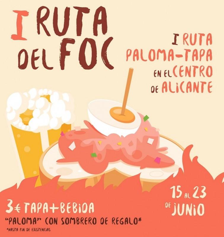 <span style='color:#780948'>ARCHIVED</span> - Alicante Ruta del Foc tapas route: June 15 to 23
