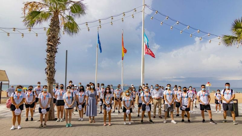 <span style='color:#780948'>ARCHIVED</span> - Benidorm beaches on the Costa Blanca gear up for safe return of tourists