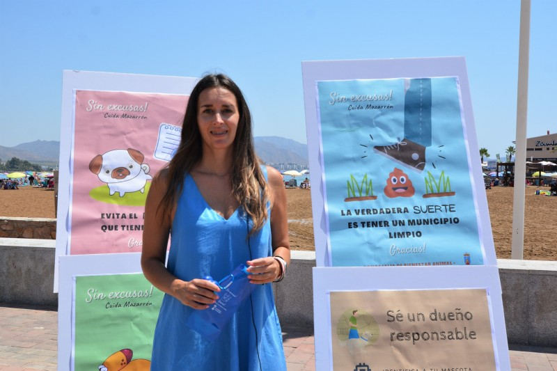<span style='color:#780948'>ARCHIVED</span> - Mazarrón launches No Excuses campaign for dog owners
