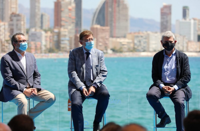 <span style='color:#780948'>ARCHIVED</span> - Benidorm will host festival to find 2022 Eurovision Song contest entry for Spain