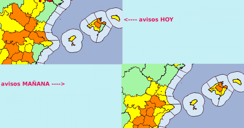 <span style='color:#780948'>ARCHIVED</span> - Orange alert as temperatures set to exceed 39 degrees in Alicante province