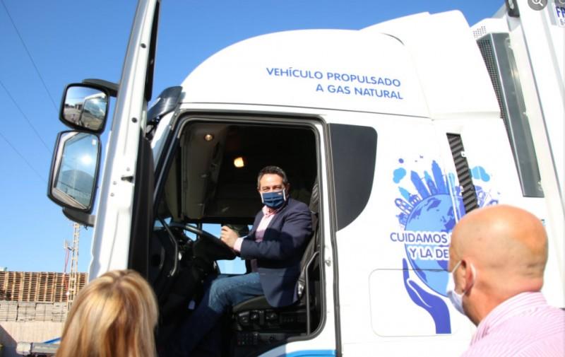 <span style='color:#780948'>ARCHIVED</span> - Murcia company develops 450-kilometre emission-free HGV Mediterranean Corridor