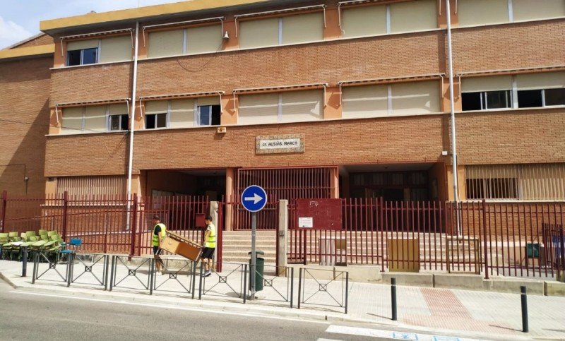 <span style='color:#780948'>ARCHIVED</span> - Elche school relocates pupils due to structural damage by storm