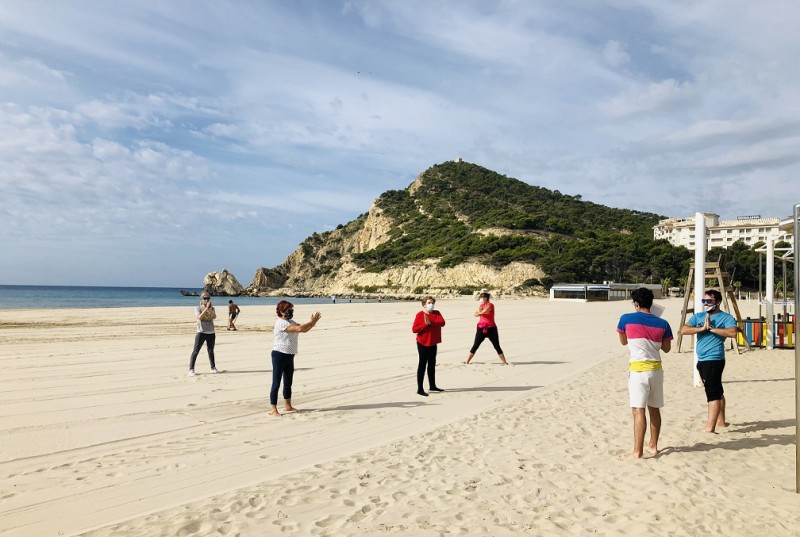 Free outdoor exercise classes in Finestrat from September 13