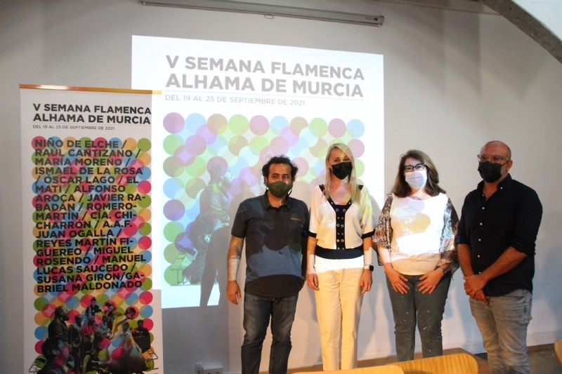 <span style='color:#780948'>ARCHIVED</span> - Fifth annual Flamenco Week in Alhama de Murcia: September 19 to 25