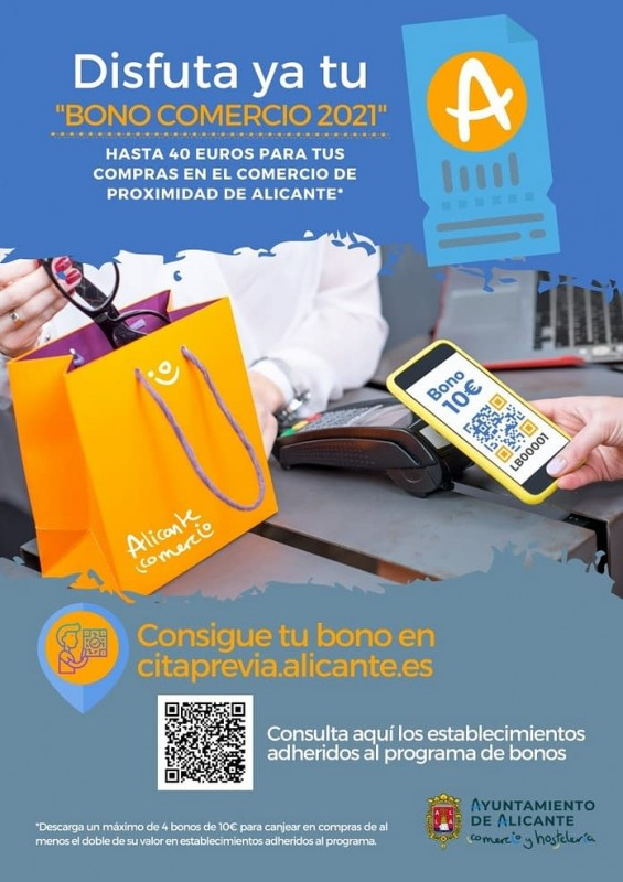Bag a bargain with discount shopping vouchers in Alicante