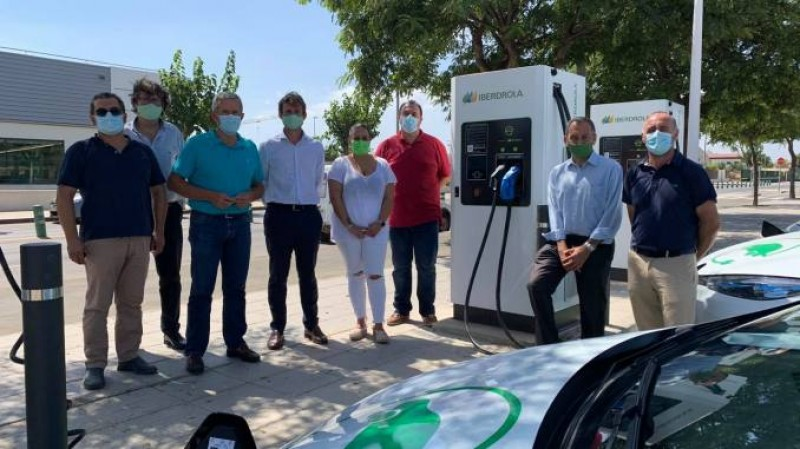 New fast charging points for electric cars in Pilar de Horadada