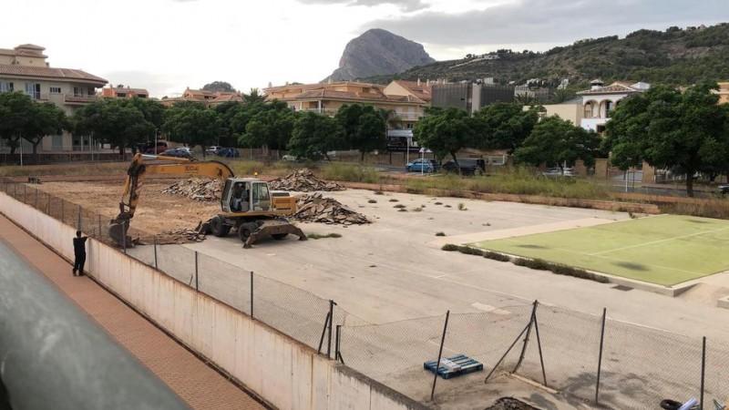 Work begins on long-awaited indoor swimming pool in Javea