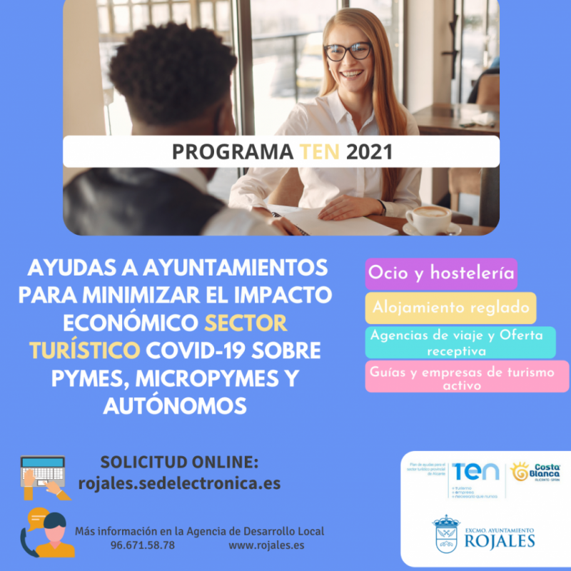 <span style='color:#780948'>ARCHIVED</span> - SMEs and self-employed tourist workers in Rojales can apply for grants