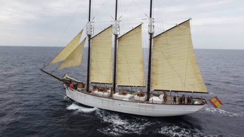 <span style='color:#780948'>ARCHIVED</span> - Iconic Pascual Flores ship to return to home port in Torrevieja following European tour