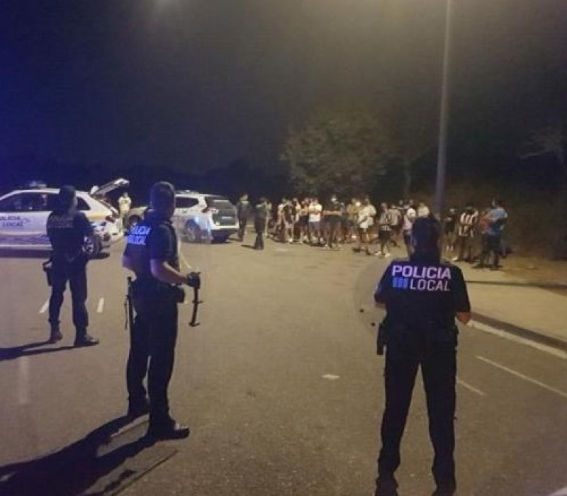 Calls for extra police presence in Denia amid spiraling street parties