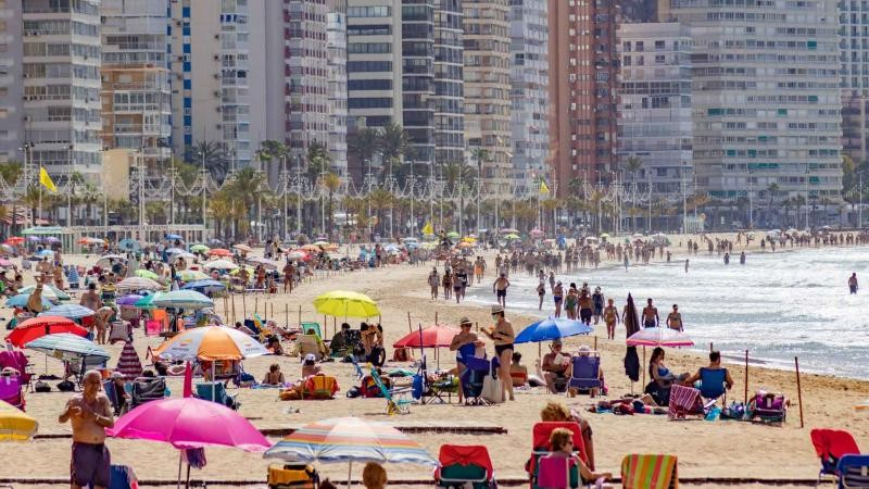 Covid incidence rate in Benidorm three times higher than national average