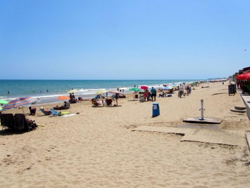 Playa Babilonia / Platja de la Babilònia in Guardamar del Segura