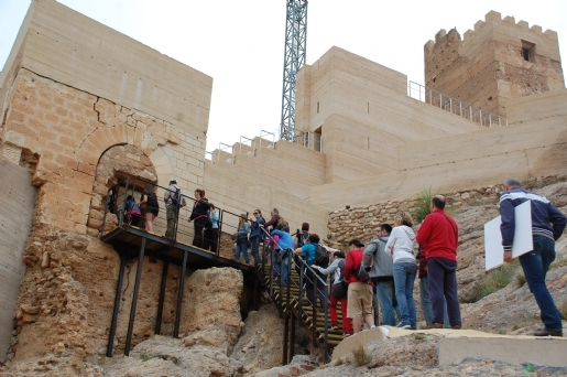 <span style='color:#780948'>ARCHIVED</span> - 23rd  November, Guided tour of Alhama de Murcia castle