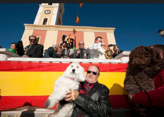 San Antón in the Murcia Region on 17th January