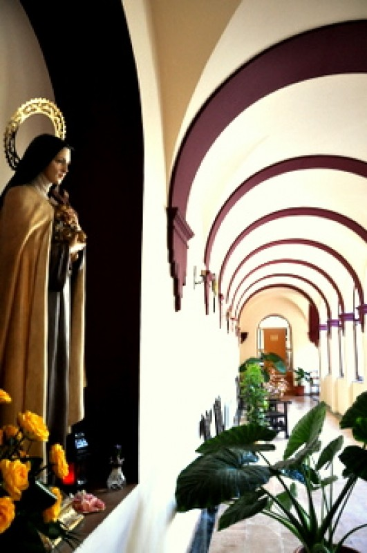 The church and monastery of Nuestra Señora del Carmen in Caravaca de la Cruz