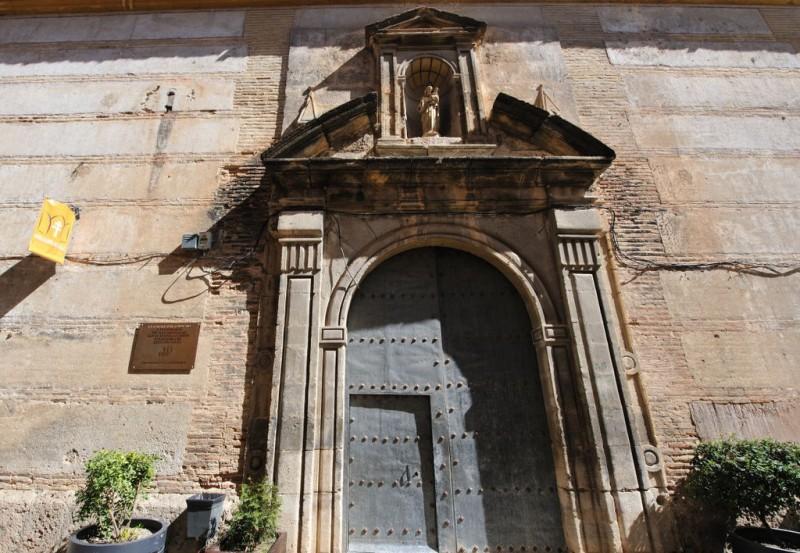 The convent-church of San José in Caravaca de la Cruz