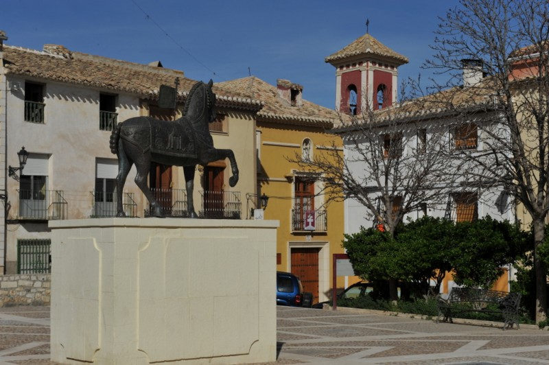 The Ermita de Santa Elena in Caravaca de la Cruz