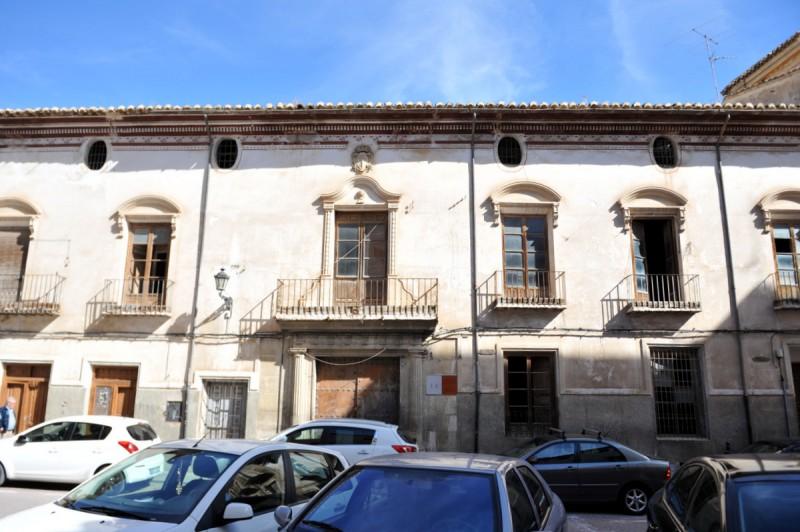 The Palacio de la Encomienda in Caravaca de la Cruz