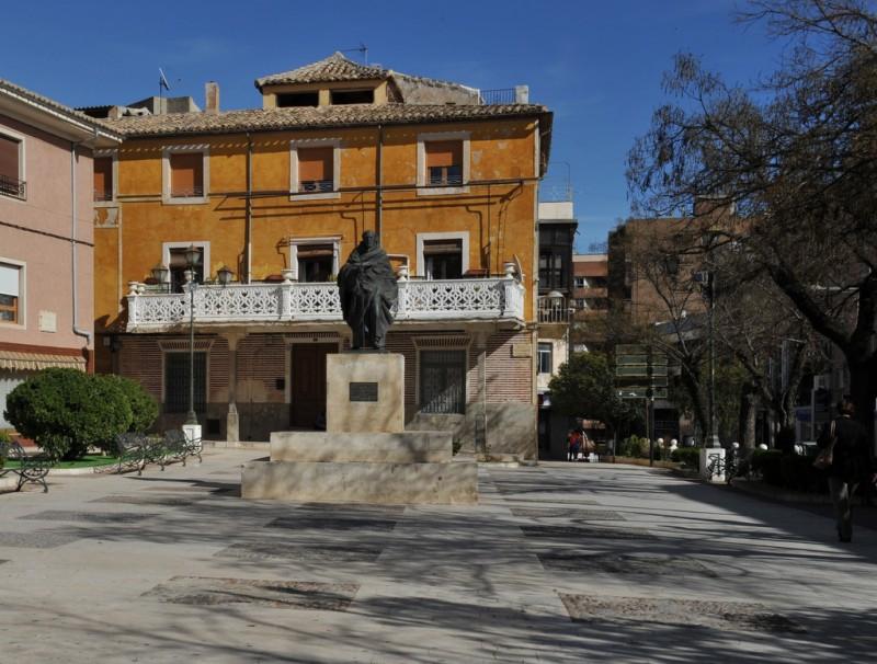 The Plaza de San Juan de la Cruz in Caravaca de la Cruz